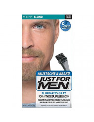 JUST FOR MEN Mustache & Beard Brush-In Color Gel, Blond M-10/15 1 Each (Pack of 2)