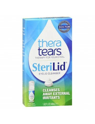 TheraTears SteriLid Eyelid Cleanser 1.62 oz (Pack of 3)
