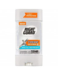 Right Guard Total Defense 5 Power Gel Antiperspirant Deodorant, Arctic Refresh - 4 Oz, (Pack of 12)