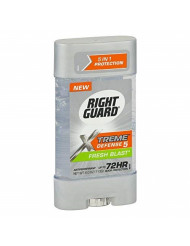 Right Guard Xtreme Defense 5 Antiperspirant Deodorant Gel, Fresh Blast, 4 Ounce (Pack of 5)