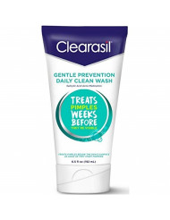 Clearasil Gentle Prevention Daily Clean Wash, 6.5 oz (Pack of 4)