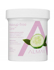 Almay Eye Makeup Remover Pads, Oil-Free 80 ea (Pack of 10)