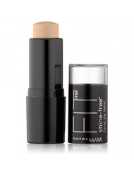 Maybelline New York Fit Me! Shine Free Stick Foundation, Classic Ivory [120] 0.32 oz (Pack of 2)