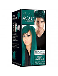 Splat Rebellious Colors Hair Coloring Complete Kit, Deep Emerald 1 ea (Pack of 2)