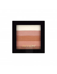 Revlon Highlighting Palette, Bronze Glow [030] 0.26 oz (Pack of 2)