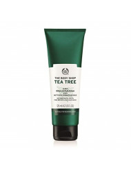 The Body Shop Tea Tree 3-in-1 Wash.Scrub.Mask, Made with Tea Tree Oil, 4.2 Fl. Oz.