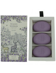 Woods of Windsor Lavender Soap, 60 g, Pack of 3