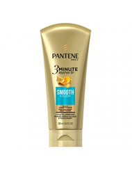 Pantene Conditioner Smooth & Sleek 3 Minute Miracle 6 Ounce Tube (180ml) (2 Pack)
