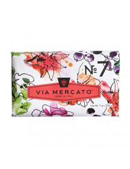 Via Mercato Italian Soap Bar (200 g), No. 7 - Peach, Fig Blossom and Rose