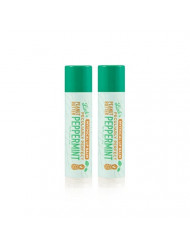 """Beard and Lady - Link's Lip Balm - Peanut Butter Peppermint -""""Peculiarly Perfect"""" - 2 Pack of 0.15 fl oz balms - Created by YouTube celebrities Rhett and Link from Good Mythical Morning"""