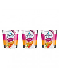 Glade 2 in 1 Jar Candle, Hawaiian Breeze and Vanilla Passion Fruit, 3.4 Ounce (Pack of 3)