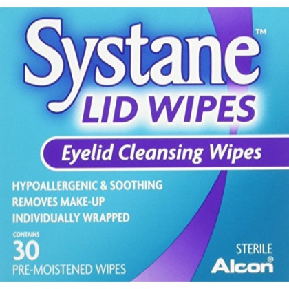Systane Eyelid Cleansing Wipes, 30 Count (5 Pack)