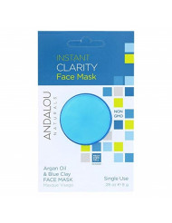 Andalou Naturals, Mask, Instant Clarity, Pack of 6, Size - 0.28 OZ, Quantity - 1 Case