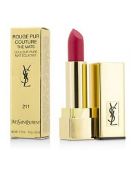 Yves Saint Laurent Rouge Pur Couture The Mats, No. 211 Decadent Pink, 0.13 Ounce