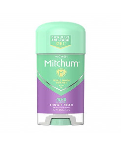Mitchum Women Gel Antiperspirant Deodorant, Shower Fresh, 2.25oz.