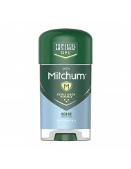 Mitchum Men Gel Antiperspirant Deodorant, Unscented, 2.25oz.