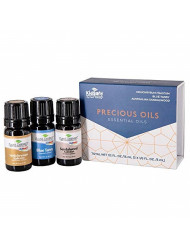 Plant Therapy Precious Oils Essential Oil Set 100% Pure, Undiluted, Therapeutic Grade Oils of Helichrysum Italicum, Blue Tansy and Australian Sandalwood. 5 ml (1/3 oz) each.