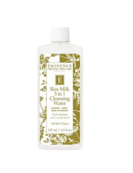 Eminence Organic Skincare Rice Milk 3 in 1 Cleansing Water, 4.2 Ounce