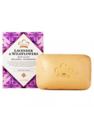 Nubian Heritage Shea Butter Soap with Lavender & Wildflowers 5 oz - Pack of 12