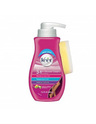 Veet In Shower Hair Removal Cream, Botanic Inspirations, Legs & Body, 400 ml