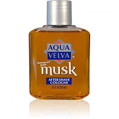 Aqua Velva After Shave, Musk, 3.5 Ounce - Buy Packs and SAVE (Pack of 2)