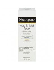 Neutrogena Age Shield Face Oil-Free Lotion Sunscreen Broad Spectrum SPF 110, ... - Buy Packs and SAVE (Pack of 3)