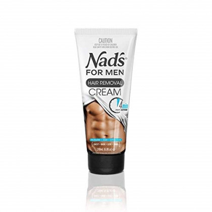 Nad's for Men Hair Removal Cream 6.8 oz (Pack of 6)