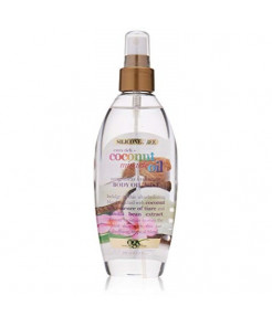 OGX Extra Rich + Coconut Miracle Oil Weightless Hydrating Silicone-Free Body Oil Mist, 6.8 Ounce