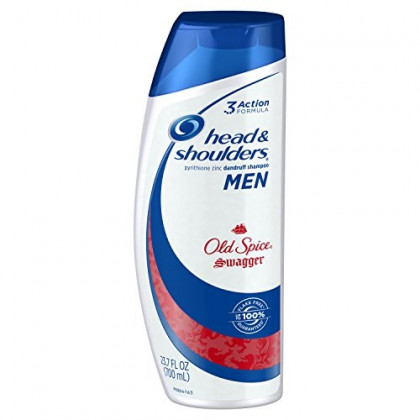 Head and Shoulders Old Spice Swagger Anti-Dandruff Shampoo for Men, 23.7 Fluid Ounce