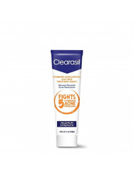 Clearasil Stubborn Acne Control 5in1 Spot Treatment Cream, Maximum Strength, Benzoyl Peroxide Acne Medication, Fights Blocked Pores, Pimple Size, Excess Oil, Acne Marks & Blackheads, 1 oz (Pack of 2)