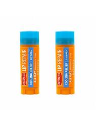 O'Keeffe's Cooling Relief Lip Repair Lip Balm for Dry, Cracked Lips, Stick, (Pack of 2)