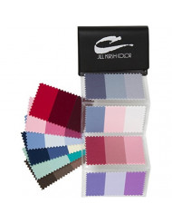 Supreme Swatch Book for Ash Blonde & Grey Hair Color: Your Perfect Colors - For Men & Women - Look Younger, Thinner, Soulful Wearing Your Colors/Fabrics! By Jill Kirsh Color, Hollywood's Guru of Hue