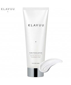 Pure PearlSation Revitalizing Facial Cleansing Foam - Removes Makeup and Works To Keep Skin Soft and Firm (130 mL / 4.40 fl oz)