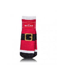 Bath and Body Works Just Be-Claus Shea Infused Santa Claus Cozy Lounge Socks One Size Fits All