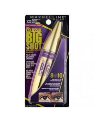Maybelline Volum' Express The Colossal Big Shot Washable Mascara, 225 Brownish Black (Pack of 2)
