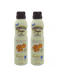 Hawaiian Tropic Silk Hydration Spf#30 Spray 6 Ounce (177ml) (2 Pack)