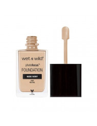 wet n wild Photo Focus Foundation, Nude Ivory, 1 Ounce
