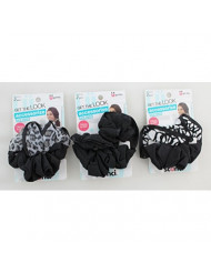 Scunci Hair Twister Scrunchies, 2 Count (Pack of 3)