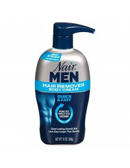Nair For Men Hair Removal Body Cream 13 oz - Buy Packs and SAVE (Pack of 2)