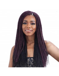 FreeTress Synthetic Hair Braids Senegalese Twist Small (6 Packs, 1B) by Freetress