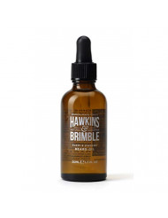 Hawkins & Brimble Beard Oil 50ml 1.69 fl oz - Strengthen, Soften and Support Growth Length with Natural Ingredients