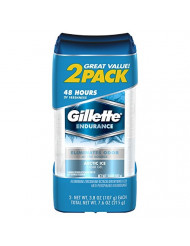 Gillette Clear Gel Arctic Ice Antiperspirant and Deodorant, 3.8 oz 2 ct
