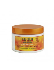 Cantu Coconut Curling Cream, 12 Ounce (Pack of 6)