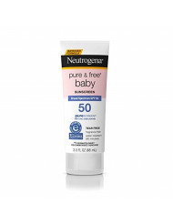 Neutrogena Pure & Free Baby Spf#50 Sunscreen 3 Ounce (88ml)