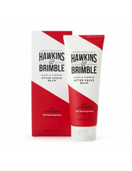 Hawkins & Brimble After Shave Balm for Men, 125 ml / 4.2 fl oz. - Cocoa, Almond & Olive Oil Moisturizing Skin Protection | Award Winning British Grooming with Natural Ingredients | Cruelty-Free Vegan