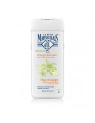 Le Petit Marseillais Extra Gentle Shower Creme with Orange Blossom, Moisturizing & Nourishing French Body Wash for pH Neutral for Skin, 21.9 fl. oz