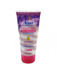 Nair Hair Remover Nourish Skin Renewal Face 3 Ounce (88ml) (3 Pack)