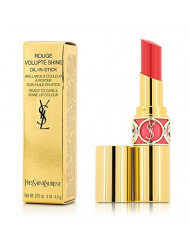 Yves Saint Laurent Rouge Volupte Shine Oil In Stick, No. 41 Corail A Porter, 0.15 Ounce
