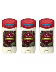 Old Spice Fresher Collection Timber Invisible Solid Deodorant 3.0 Oz (Pack of 3)
