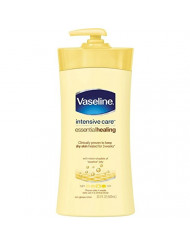Vaseline Intensive Care Lotion Essential Healing 20.3 Ounce (600ml) (2 Pack)